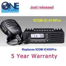 ICOM IC-410Pro (Replaces IC-400Pro, IC400Pro) 5 Watt 80 channel UHF CB Radio
