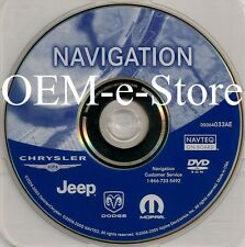 2002 2003 2004 2005 2006 Dodge Caravan SXT SE RB1 Navigation DVD Map Update 33AE