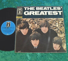 The Beatles LP Greatest (Greatest & Rubber Soul) Cover c)
