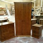 HANDMADE CAMBRIDGE (DARK OAK **POLISHED**) 3 PIECE BEDROOM SET NOT FLAT-PACK!!!