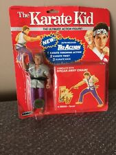 1986 Remco The Karate Kid KREESE Ultimate Action Figure On Super Rare Red Card