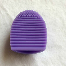 EGG BRUSH COSMETIC BRUSH MAKE UP TOOL - PURPLE