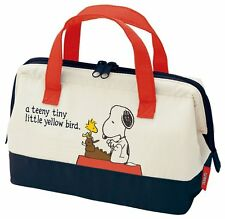 New Snoopy ☆ Peanuts Cooler Lunch Bag , Kawaii Bento Bag From JAPAN