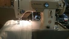 Singer 223 All Metal Gears Zig Zag Sewing Machine Serviced and Tested