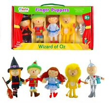 NEW WIZARD OF OZ - Finger Puppets set - 5 Puppets - Fiesta Crafts - boxed set