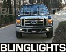 2008 2009 2010 Ford F250 F-250 Super Duty Xenon Fog Lamps Driving Lights Kit