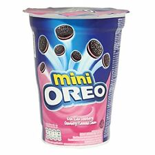 OREO Mini Cookies with Strawberry Flavored Cream 67g 2.4oz