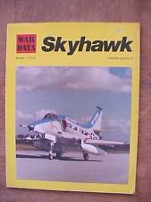 McDonnell Douglas A4 Skyhawk military aircraft aviation book - Kenneth Munson