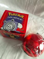 Pokemon Poliwhirl Card 23K Gold Plated Trading Pokeball Red Box Ltd. Ed Sealed