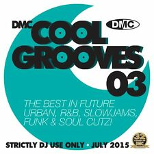 DMC Cool Grooves Issue 3 Future Urban, R&B, Slowjams, & Soul Cutz DJ CD