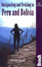 Backpacking and Trekking in Peru and Bolivia (Bradt Guides)-ExLibrary