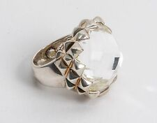 Stephen Webster Women's White Mother-of-pearl Doublet Ring size 4