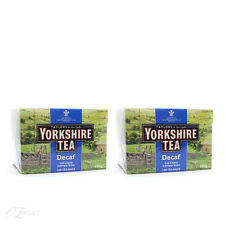 Taylors of Harrogate Yorkshire Decaf 160 Tea Bags x2