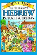 Let's Learn Hebrew: Children's Picture Dictionary-ExLibrary
