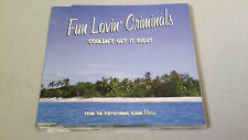 "FUN LOVIN' CRIMINALS ""COULDN'T GET IT RIGHT"" CD SINGLE 1 TRACKS"
