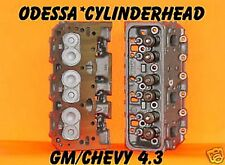 2 GM CHEVY S10 ASTRO VAN 4.3 CYLINDER HEADS CAST IRON REBUILT