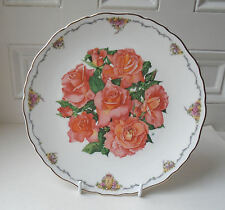 Royal Albert Plate QUEEN MOTHER'S FAVOURITE FLOWERS  Elizabeth of Gamis