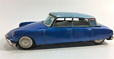 Vintage Bandai Friction Citroen DS19 Tin Toy Car Japan 1960s