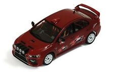 IXO RAM450 MITSUBISHI LANCER EVO X diecast model rally car, Rallyart 2008 1:43rd