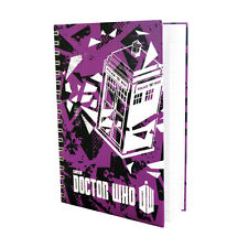 DOCTOR WHO WORLDS IN TIME TARDIS A6 NOTEBOOK BRAND NEW GREAT GIFT SCHOOL OFFICE