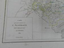 DUSSIEUX / ATLAS GENERAL DE GEOGRAPHIE geographie et histoire Vers 1854