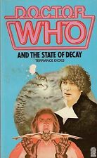 DOCTOR WHO  THE STATE OF DECAY by TERRANCE DICKS  TARGET PAPERBACK ~