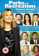 Parks and Recreation Complete Season 7 - DVD NEW & SEALED (3 Discs)UK Edition