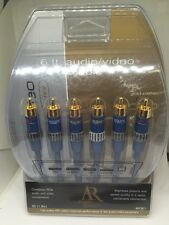 Acoustic Research Gold Plated 6Ft Audio/Video Cable AP061 Sound AF1