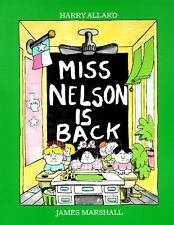Miss Nelson Is Back-ExLibrary