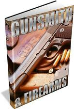 Gunsmith Firearms 139 Vintage Books DVD Pistols Rifles Guns Musket Explosives