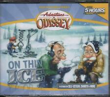 NEW Adventures in Odyssey #7 ON THIN ICE 4-CD Christian Children's Audio SET