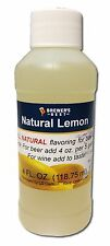 Brewers Best Natural Lemon Flavoring Extract for Beer & Wine