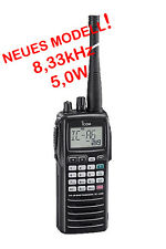 Icom ic-a6e vuelo funk dispositivo 8,33 & 25 MHz rejilla nuevo Top &!