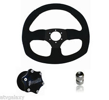 Dragonfire Racing Quick Release SUEDE D Steering Wheel Kit RZR XP1000 Turbo 2016