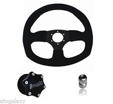 Dragonfire Racing Quick Release SUEDE D Steering Wheel Kit RZR 900 S XC / XP1000
