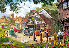 NEW! Gibsons Afternoon Amble by Steve Crisp 1000 piece nostalgic jigsaw puzzle