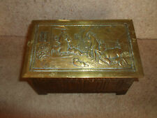 Collectable Vintage Tin Circa 1920's Jacob & Co's Biscuit Shaped Like A Log Box