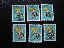 MONACO - timbre yvert et tellier n° 999 x6 obl (A26) stamp