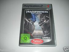 PS2 - Transformers The Game ** Playstation 2 Spiel