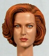 1:6 Custom Head of Gillian Anderson as Dana Scully from the TV show The X-Files