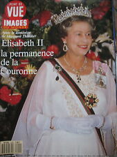 POINT DE VUE N° 2209 REINE ELISABETH II DEMISSION THATCHER CHATEAU FILIERES 1990