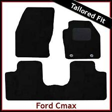 Ford C-Max Mk2 2011 onwards Tailored Fitted Carpet Car Floor  Mats BLACK