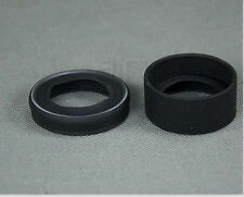 2PCS 34-37mm Rubber eye cups Eye Guards for Stero Microscope/Telescope eyepiece