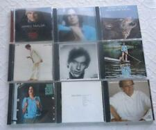 LOT OF 9 CD JAMES TAYLOR AT CHRISTMAS GORILLA NEVER DIE YOUNG ONE MAN DOG