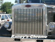 Peterbilt 379 Long Hood Grill 17 Vertical Bars SS