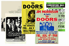 THE DOORS - SET OF 5 - A4 POSTER PRINTS # 1