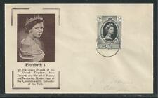 ASCENSION ISLAND  # 61 QUEEN ELIZABETH II CORONATION  First Day Cover (3199)