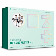 BTS 3RD MUSTER BLU-RAY [ARMY.ZIP+] 2 DISC+16p Photo Book+1p Stand Paper K-POP