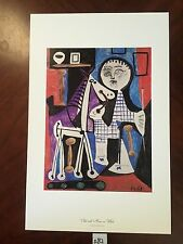 Child with Horse on Wheels by Pablo Picasso 11x17 Vintage Artwork Repro Print