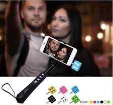 Nouveau téléphone mobile noir mini appareil photo flash led lumières